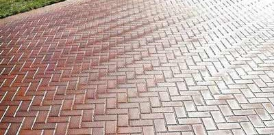 brickweave driveway ideas